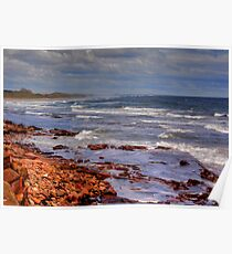 Sea View - Bamburgh Poster