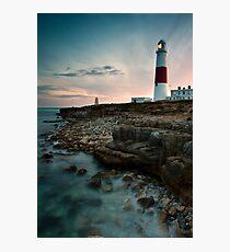 Portland Lighthouse Sunset.  Photographic Print