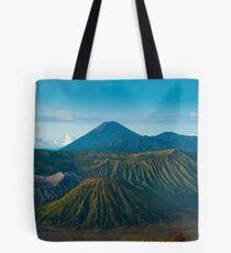 Bromo volcano at sunrise, Java, Indonesia Tote Bag