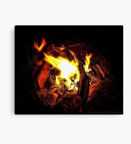 Campfire Memories Canvas Print