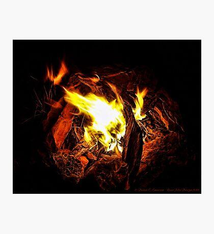 Campfire Memories Photographic Print