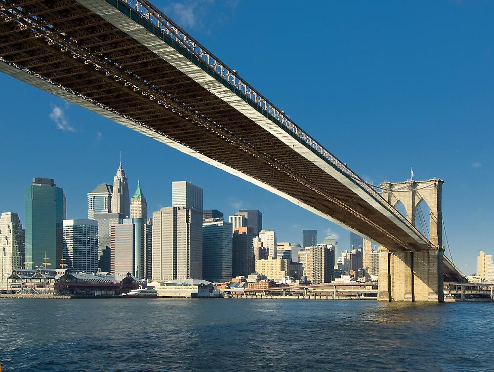 Brooklyn bridge, New York by javarman