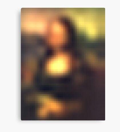 Mona Reconstituted 2 Canvas Print