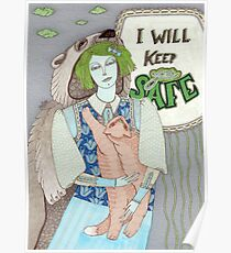I Will Keep You Safe Poster