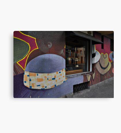 Sombrero Shop, Santiago Canvas Print