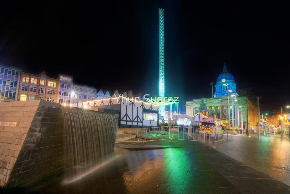 Nottingham Town Square by Yhun Suarez
