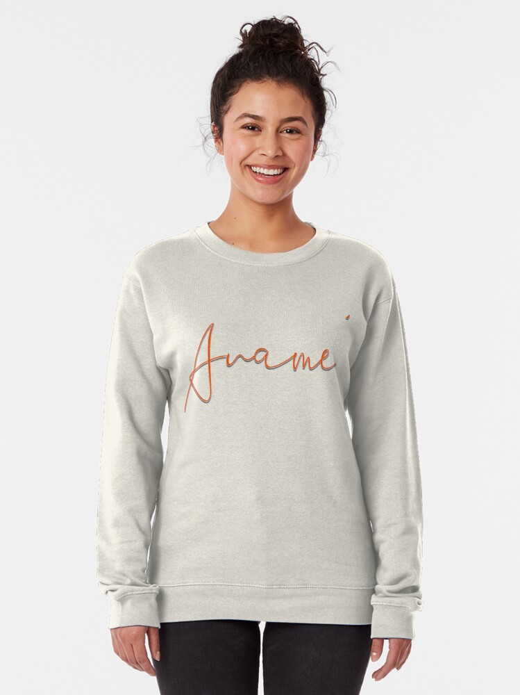 Alternate view of Aname' Rose  Pullover Sweatshirt