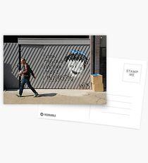 Street Art in London Postcards