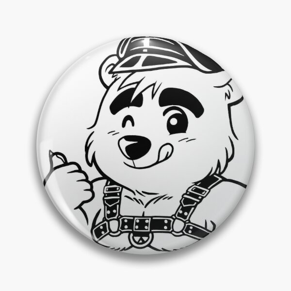 KINKY CUB (LINEART) - BEARZOO SERIES Pin