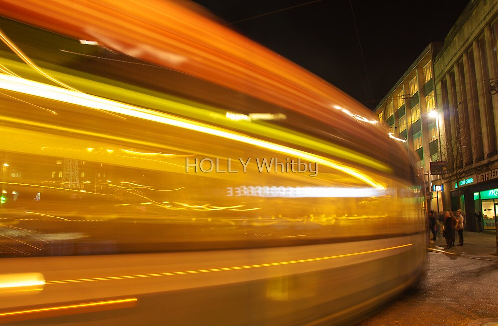 As the Tram goes By by Elaine123