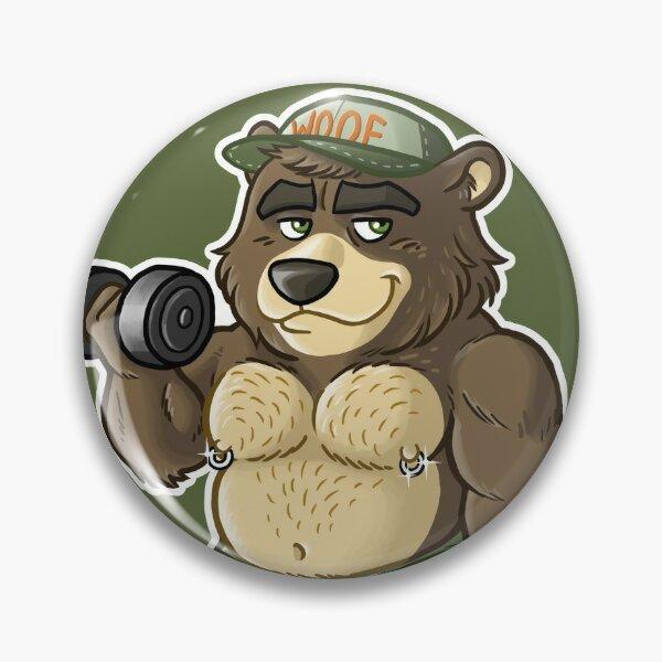 THICC BEAR - BEARZOO SERIES Pin