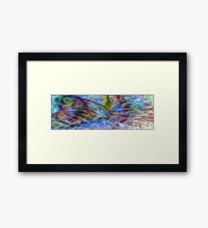 Waves of Light Framed Print