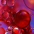 Red and Purple Bubbles by Mattie Bryant