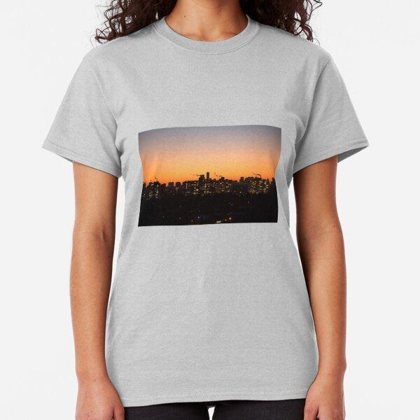 City Sunset Smoke Classic T-Shirt