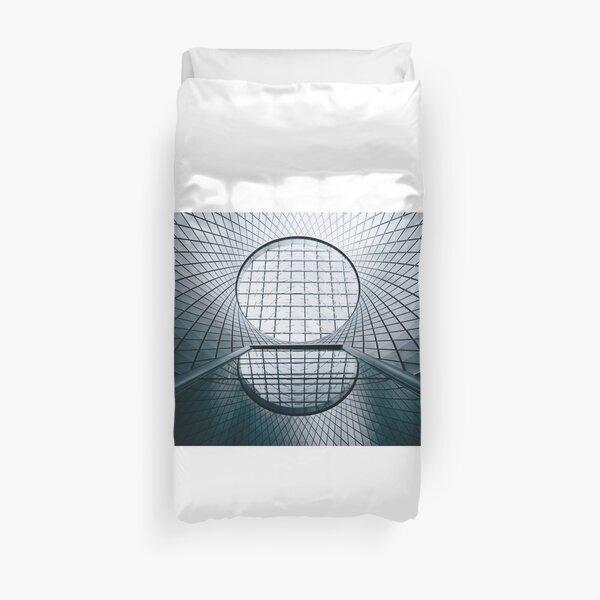 Geo Glass Duvet Cover