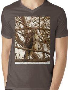 Red-Tailed Hawk as wise as Owl T-Shirt