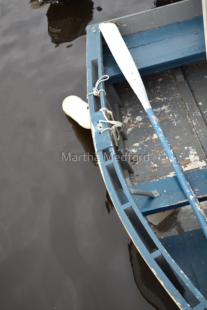 Row Boat by Martha Medford