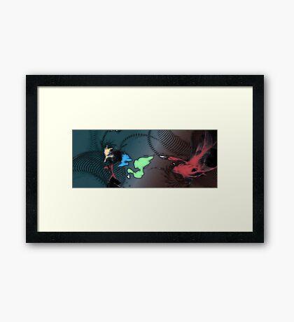 Melange Framed Print