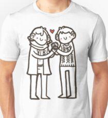 Sherlock and John Unisex T-Shirt