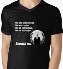 Anonymous Men's V-Neck T-Shirt