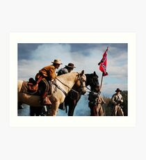 The Civil War Reenactor-1141 Art Print