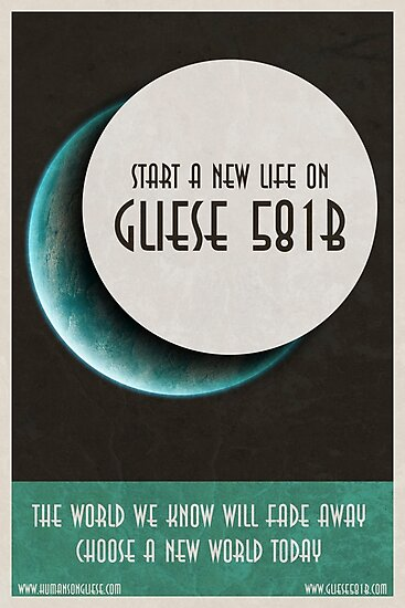 Start a new life on Gliese by Jornsart