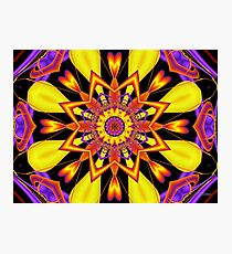 Yellow Magic Photographic Print