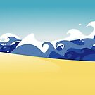 Life's a beach by BANDERUS MARTIN