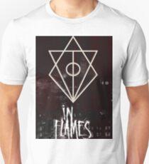 In Flames Glitch T-Shirt