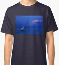 Jump over the horizon or dive into the Aegean Classic T-Shirt