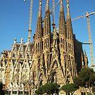 Sagrada Familia Barcelona by Kasia  Kotlarska