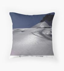 vallee blanche Throw Pillow