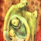 Nativity Art Deco  ~ iPhone Case by leapdaybride