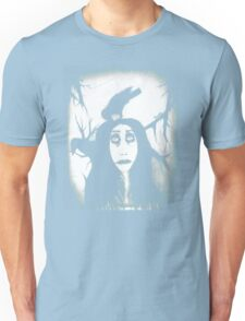 Her eyes so innocent... on hallowed ground. Unisex T-Shirt