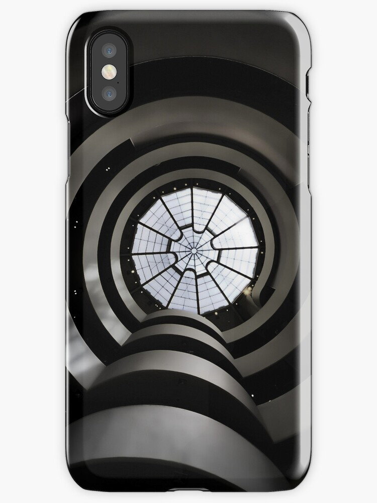 Ghostly Guggenheim - iPhone 4 case by Warren Paul Harris