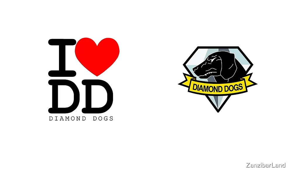 I ♥ Diamond Dogs (Metal Gear Solid)  by ZanzibarLand