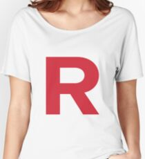 Team Rocket inspired 'R' Women's Relaxed Fit T-Shirt