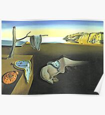 Melting Clocks Salvador Dali Fine Art Poster