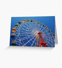 Ferris Wheel Colour Greeting Card