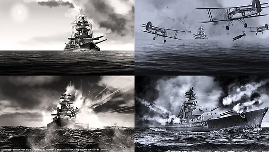 Quot Scp 4217 The Bismarck Collection Quot Poster By