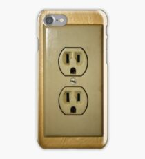 Electric Outlet iPhone Case/Skin