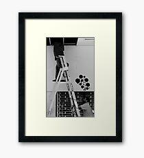 Urban Daydreaming Framed Print