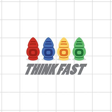 Think Fast Robots by andreluiscorrea