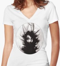 Coiling and Wrestling. Dreaming of You Women's Fitted V-Neck T-Shirt