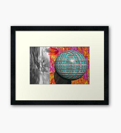 E pluribus unum Framed Print