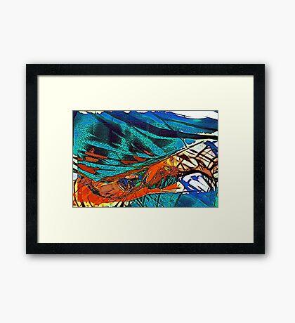 Abstract Feelings (my no. 400!!) Framed Print