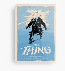 The Thing (1982) Affiche personnalisée Impression métallique