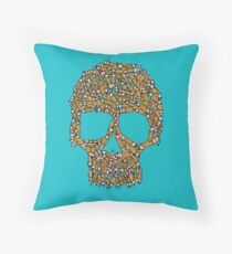 Create Or Die Throw Pillow