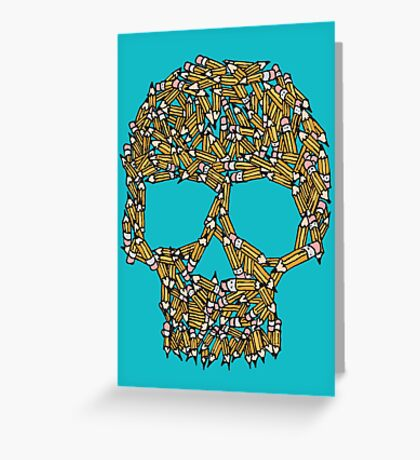 Create Or Die Greeting Card