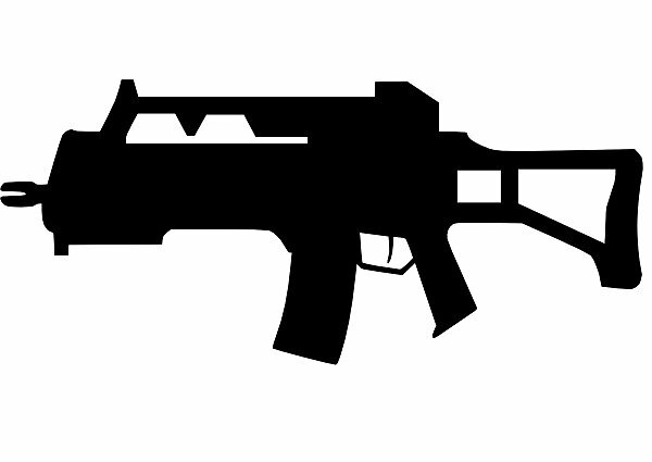 Simple Assault Rifle by Spoinman